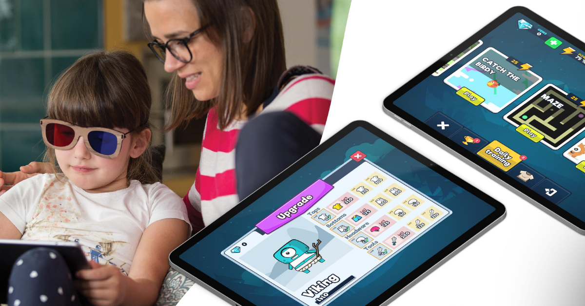 AmblyoPlay solution has already helped thousands of kids worldwide tackle problems like lazy eye