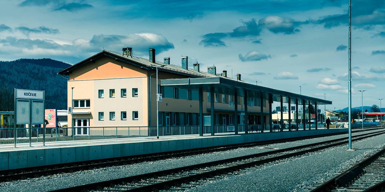 Modernization of the Kočevje track