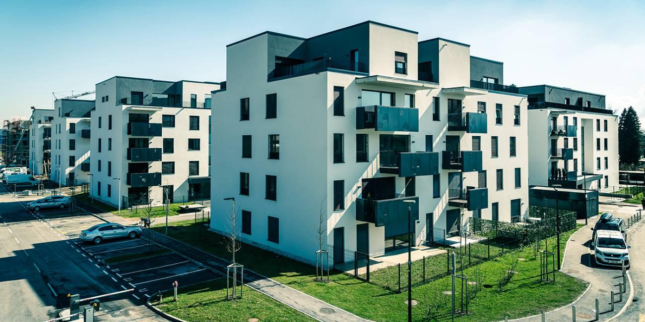 "Multi-dwelling complex ""Among the cherries"" in Črnuče – Ljubljana"