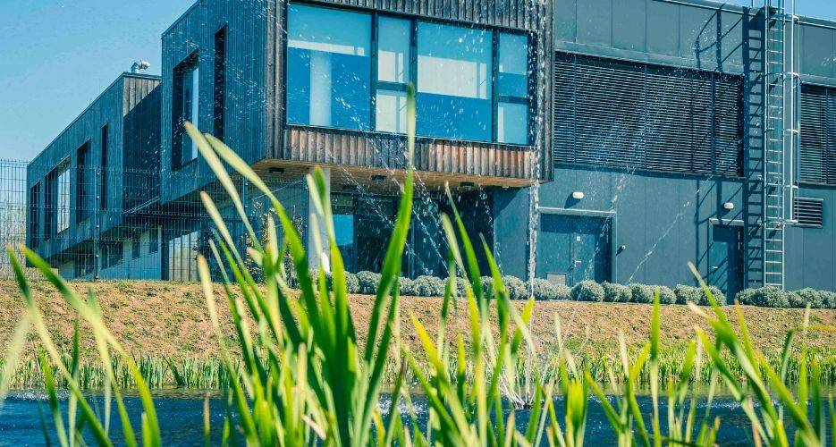 Central wastewater treatment plant Nova Gorica