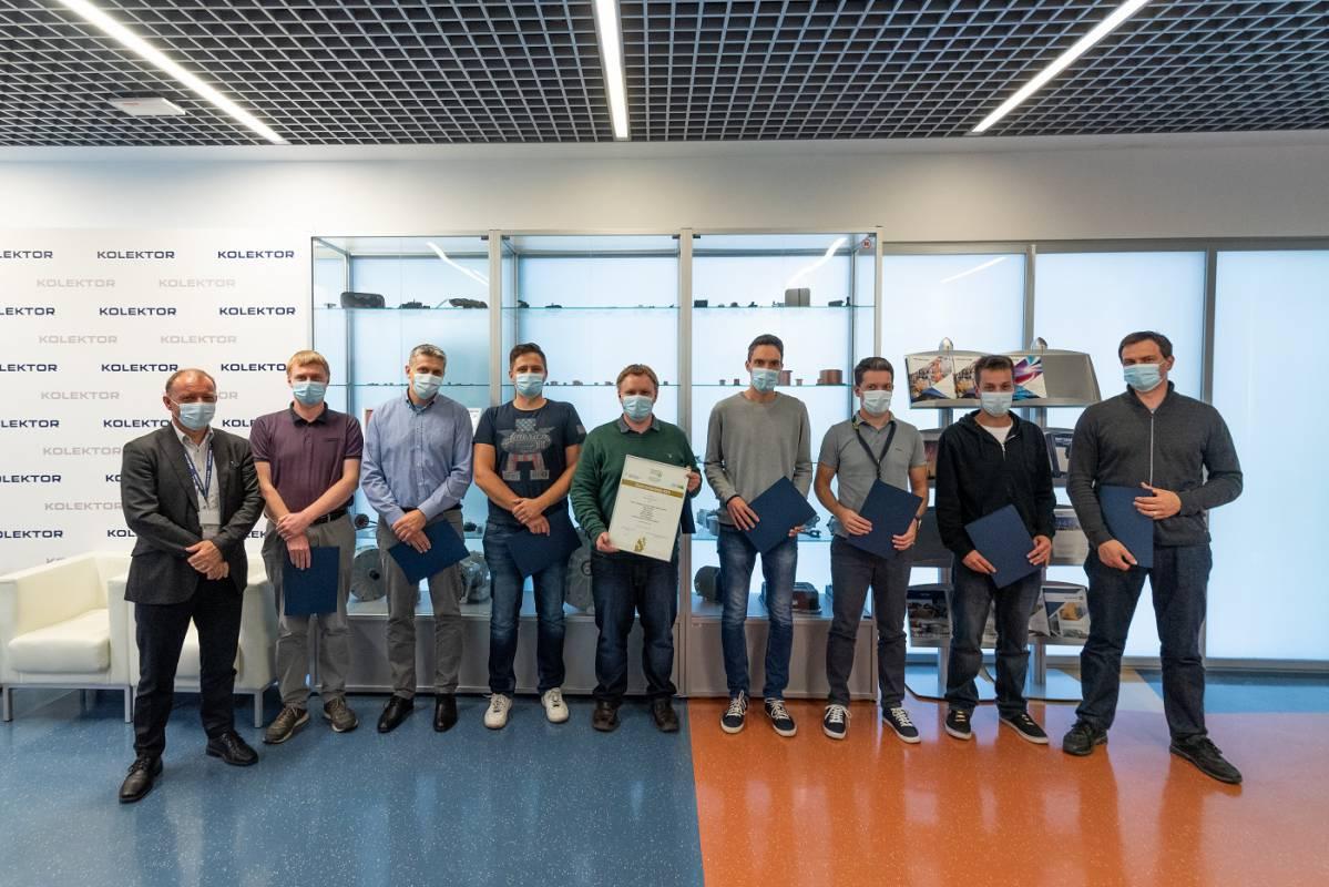 Gold and silver award for innovation for Kolektor